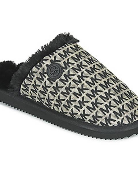 Čierne papuče MICHAEL Michael Kors