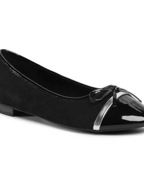 Čierne balerínky Clara Barson