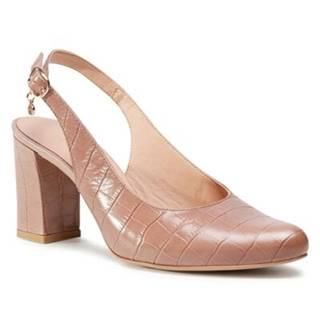 Sandále Lasocki 896-03C Prírodná koža(useň) - Lícova