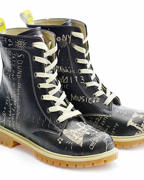 Čierne topánky goby