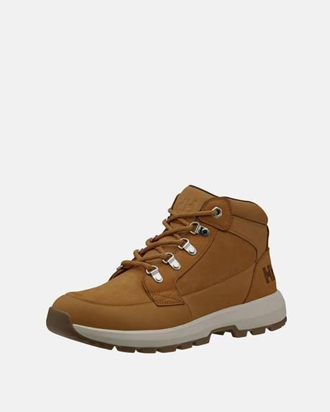Hnedé topánky Helly Hansen