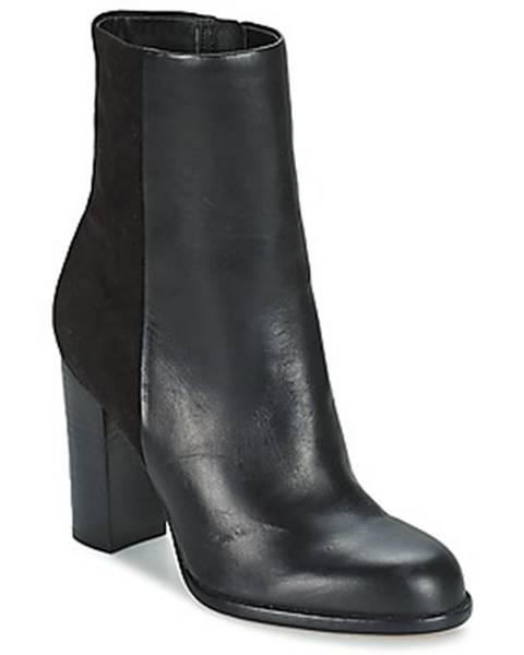 Čierne topánky Sam Edelman