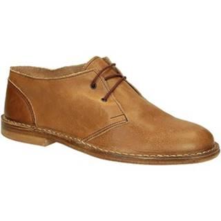 Derbie Leonardo Shoes  100 CARMEN CUOIO