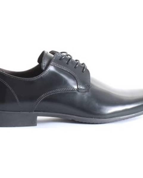 Čierne topánky Paolo Da Ponte