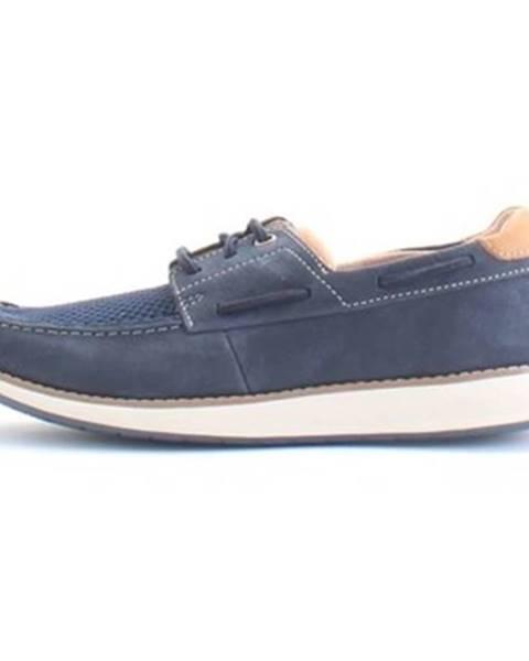 Modré topánky Clarks