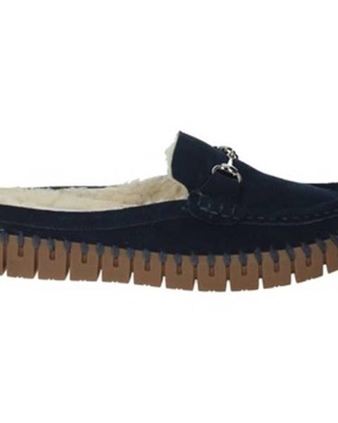 Modré papuče Nina Capri