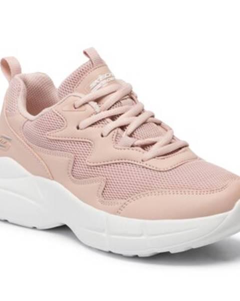 Ružové tenisky Skechers