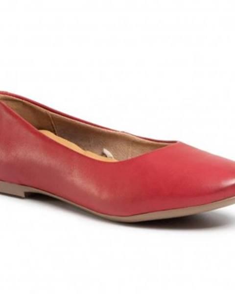 Červené balerínky Lasocki