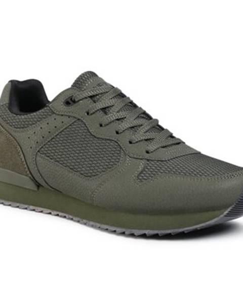 Khaki topánky Lanetti
