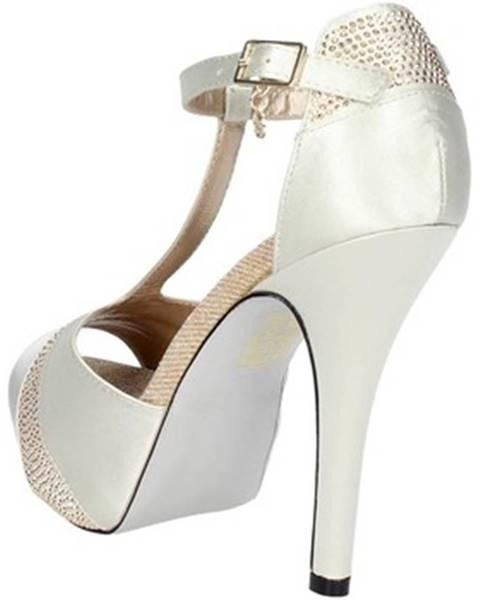 Béžové sandále O6