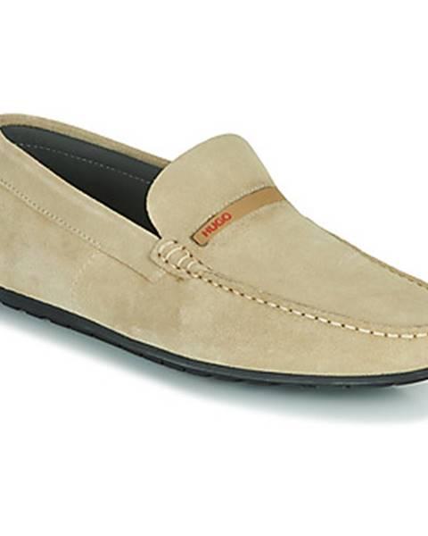 Béžové topánky HUGO