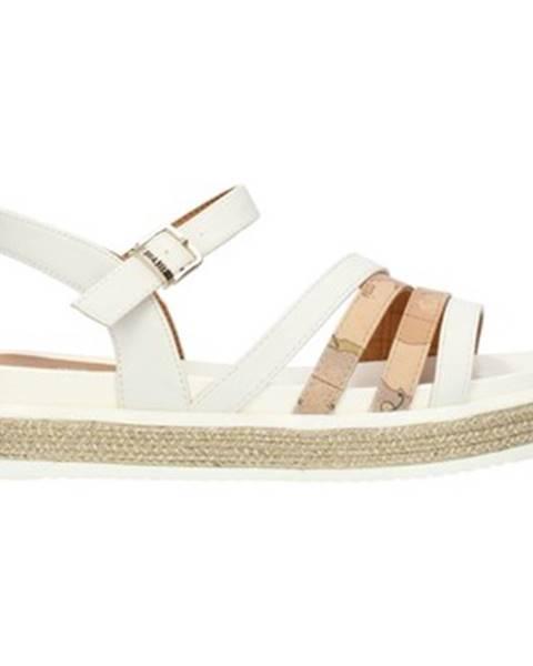 Biele sandále Alviero Martini