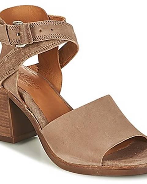 Béžové sandále Shabbies