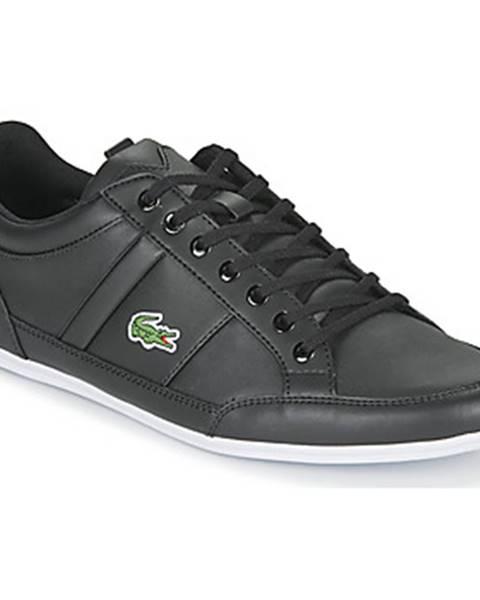 Čierne tenisky Lacoste