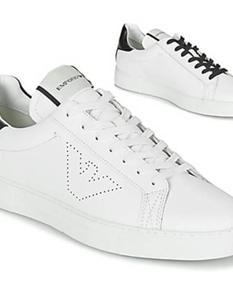 Biele tenisky Emporio Armani