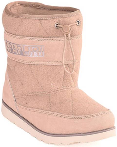 Béžové topánky Napapijri