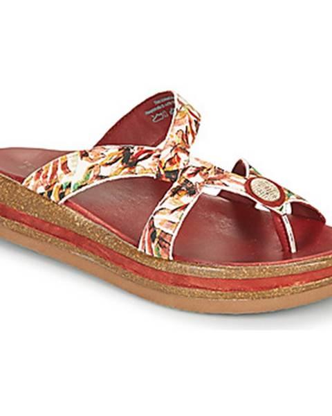 Biele sandále Think