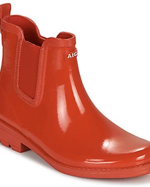 Červené topánky Aigle