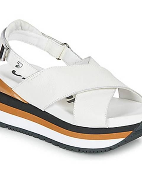 Biele sandále Gioseppo