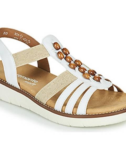 Biele sandále Remonte Dorndorf