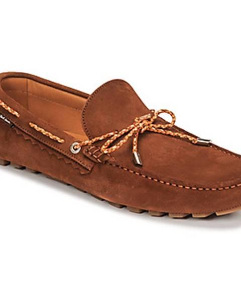 Hnedé topánky Paul Smith