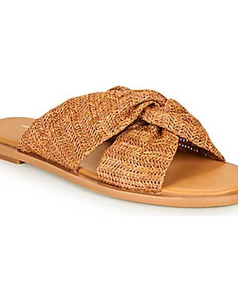 Hnedé topánky Vanessa Wu