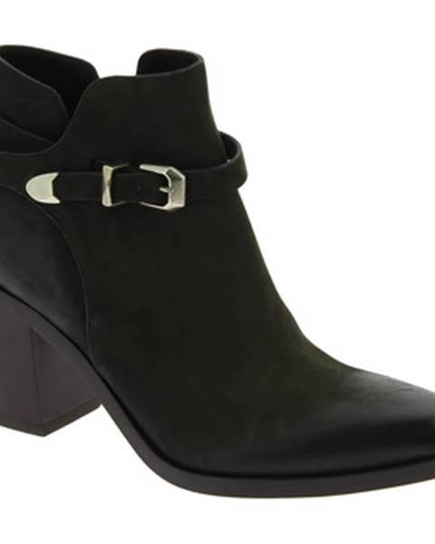 Čierne topánky Sartore