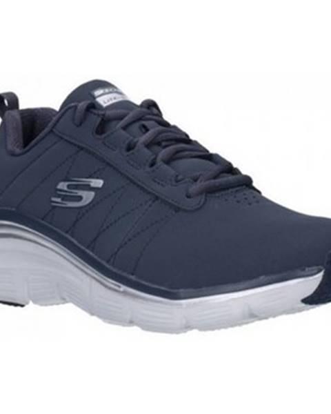 Modré tenisky Skechers