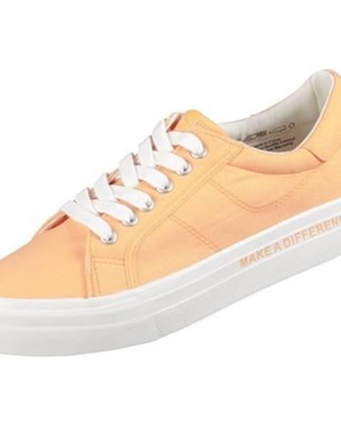 Oranžové tenisky Tamaris