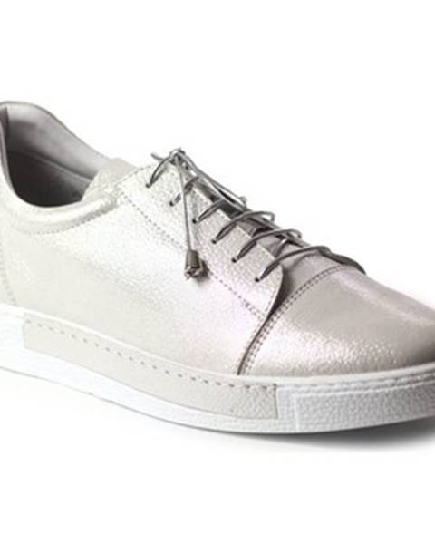 Strieborné topánky Venezia