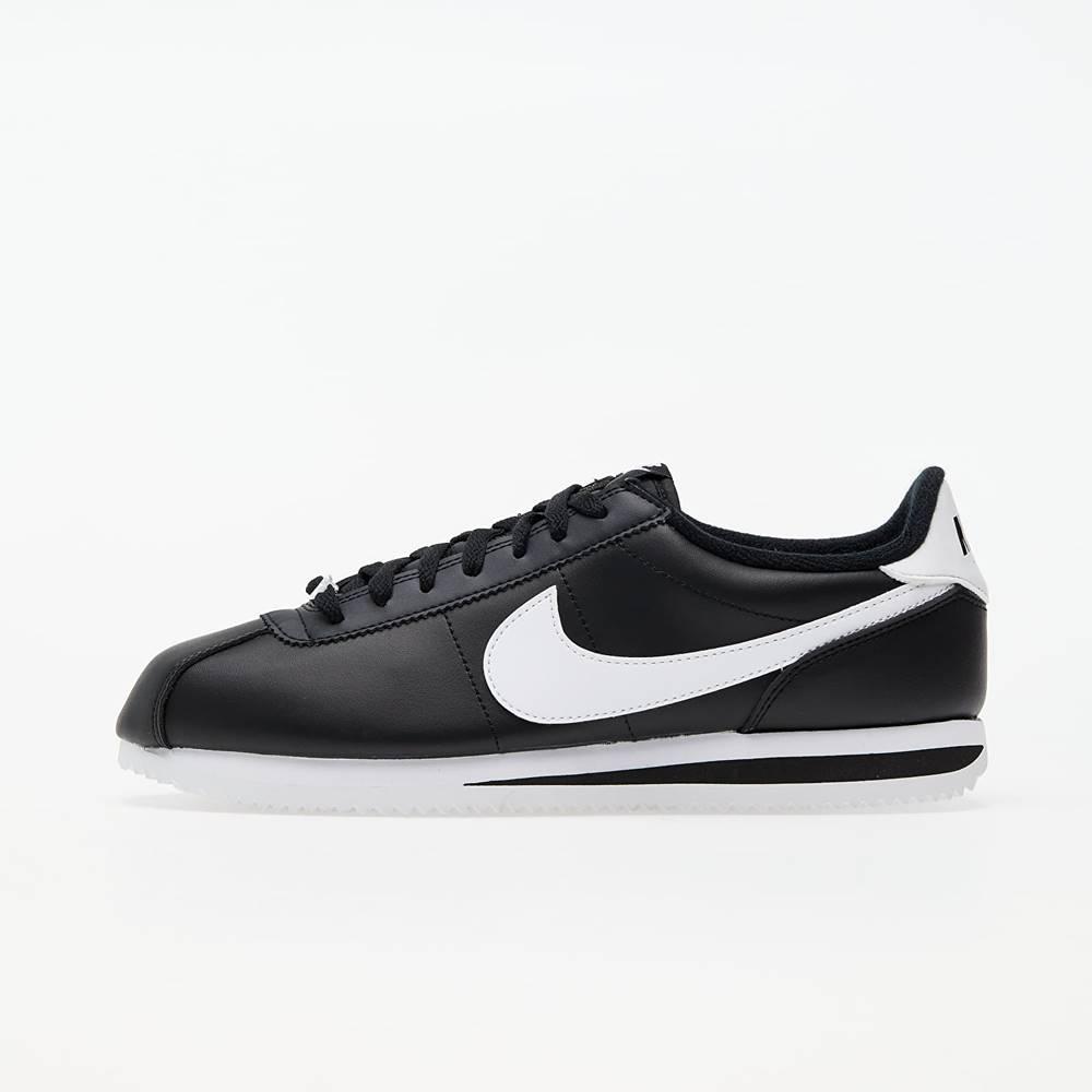 Nike Cortez Basic Leather Black/ White