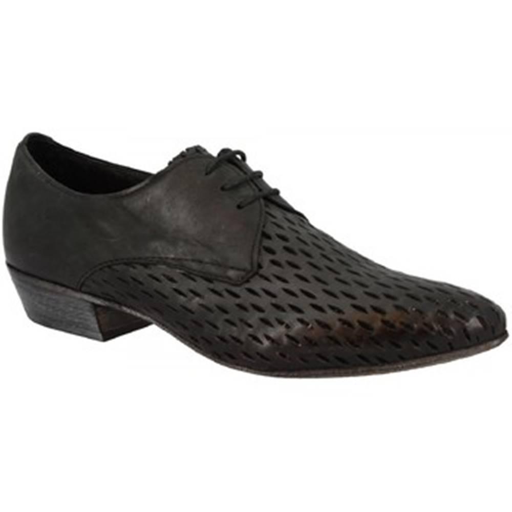 Leonardo Shoes Derbie Leonardo Shoes  2695 MAYA NERO