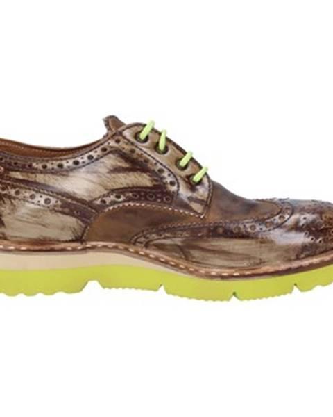 Hnedé topánky +2 Piu' Due
