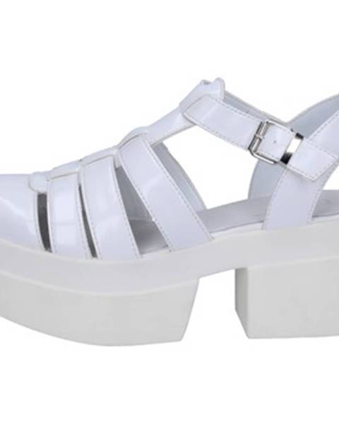 Biele sandále Cult