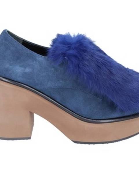 Modré topánky PALOMA BARCELÓ