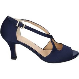 Sandále Olga Rubini  sandali blu raso BS119