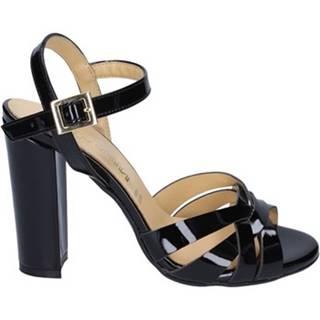 Sandále Olga Rubini  sandali nero vernice BS115