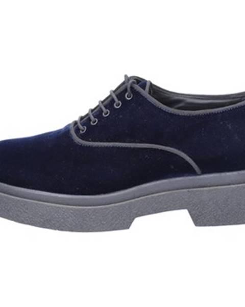 Modré topánky Jeannot