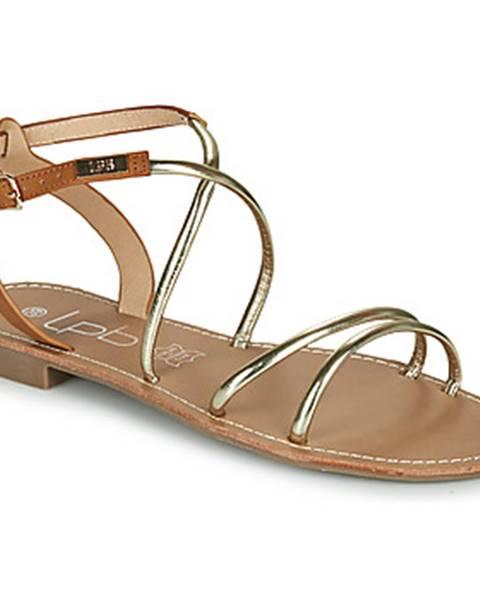 Zlaté sandále Les Petites Bombes