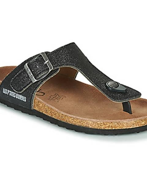 Čierne topánky Les Petites Bombes
