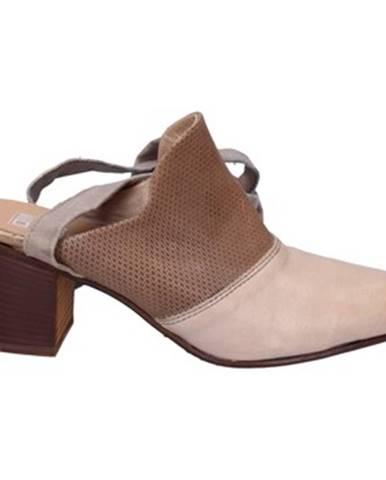 Béžové topánky Moma
