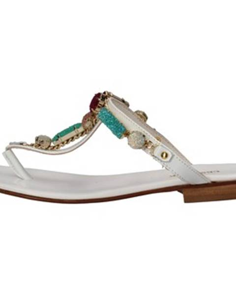 Biele sandále Cesare P. By Paciotti