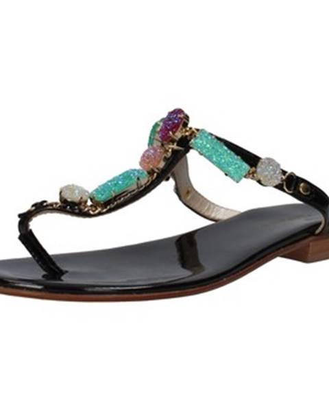 Čierne sandále Cesare P. By Paciotti