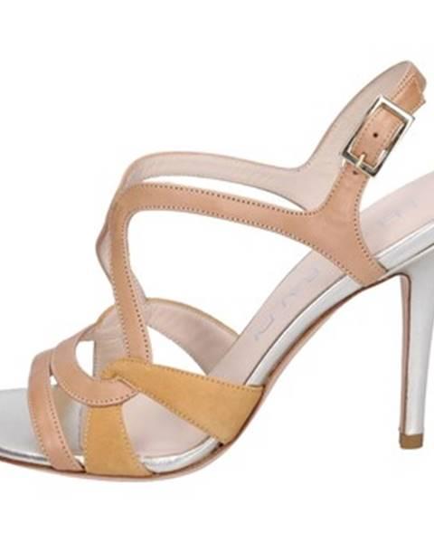 Béžové sandále Lella Baldi