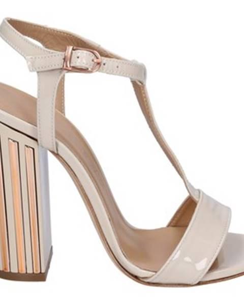 Béžové sandále Marc Ellis