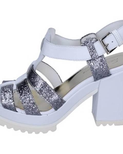 Biele sandále Sergio Cimadamore