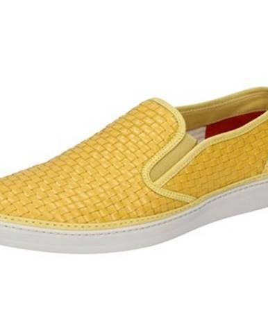 Žlté espadrilky Brimarts