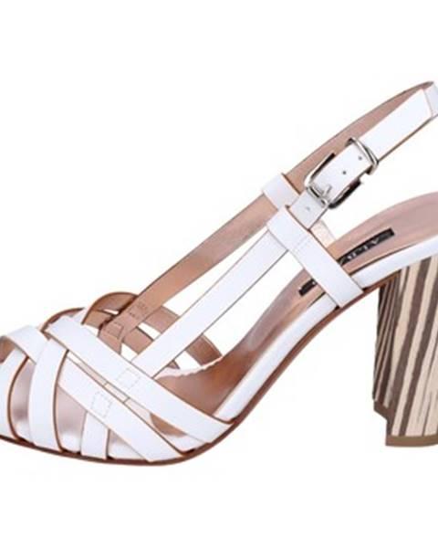 Biele sandále Albano