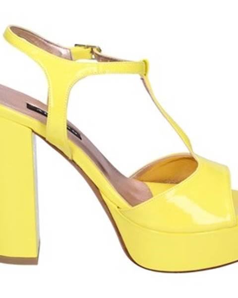 Žlté sandále Albano