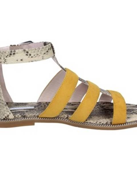 Žlté sandále Gaudi